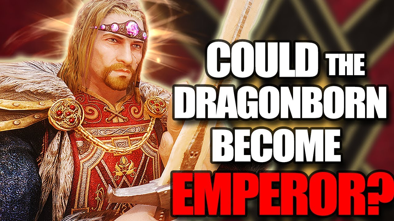 Skyrim - Could the Dragonborn Become Emperor? - Elder Scrolls Lore thumbnail