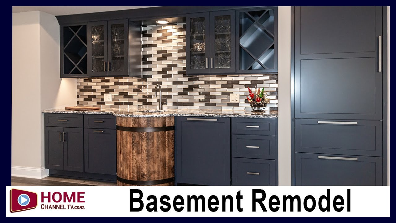 Basement Remodel with Custom Kitchenette - Basement Remodeling - Renovation Ideas | Interior Design