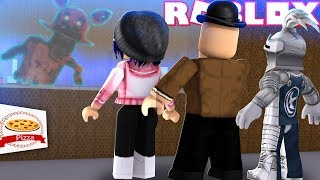 GALLANT, CHELSE AND CALLUM FIGHT OFF FOXY, BENDY AND EVIL DENIS! Roblox roleplay!