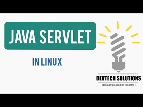 How to Run Java Servlet Program using Apache Tomcat Server in Ubuntu Linux