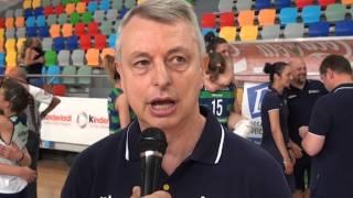 03-07-2014: tdrvolley2014 - Lombardia in finale femminile, intervista a Luciano Pedullà
