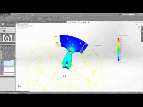 The Cyclic Symmetry Constraint in SOLIDWORKS Simulation - March 2015