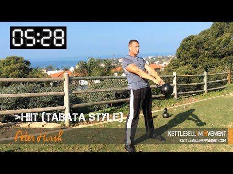 HIIT Tabata Kettlebell Workout