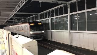 東急東横線元住吉駅 メトロ10000系 通過