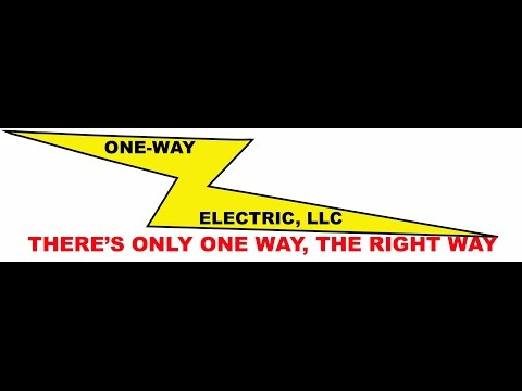 Amarillo Electrician | (806)681-1217 | One-Way Electric, LLC