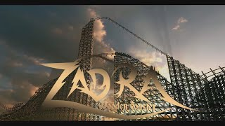Zadra Wooden Coaster Energylandia Amusement Park Attraction 2019 Premier 22.08.2019