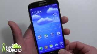 Samsung Galaxy S 4 initial setup and changes to TouchWiz