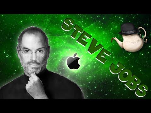 Steve Jobs et sa POMME. Teatime!