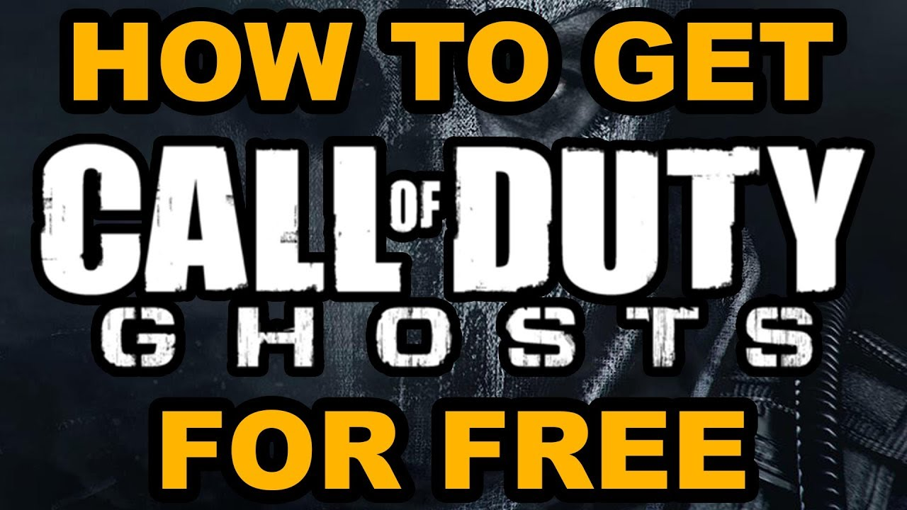 How To Get Call of Duty: Ghosts For Free | 2018 | PC