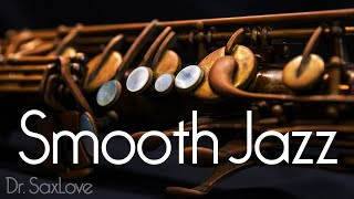 Soft Smooth Jazz • Smooth Jazz Saxophone Instrumental Music for Relaxing and Studying