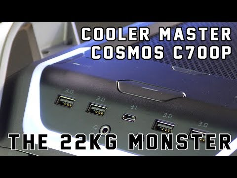 Cooler Master Cosmos C700P Review - the 22KG MONSTER!
