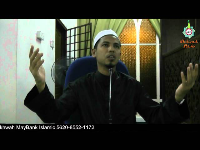 013 Tazkirah Ramadhan Ust Farid Hasyim Travel Video