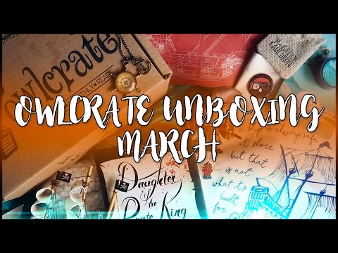OWLCRATE MARCH BOX - SHIPS, SAILORS, AND SEAS (AND PIRATES!)