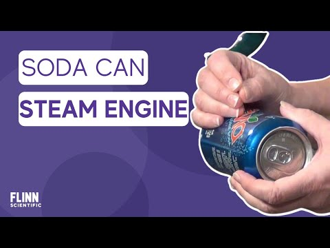 How To Build Simple Soda Can Steam Engine