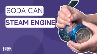 Simple Soda Can Steam Engine