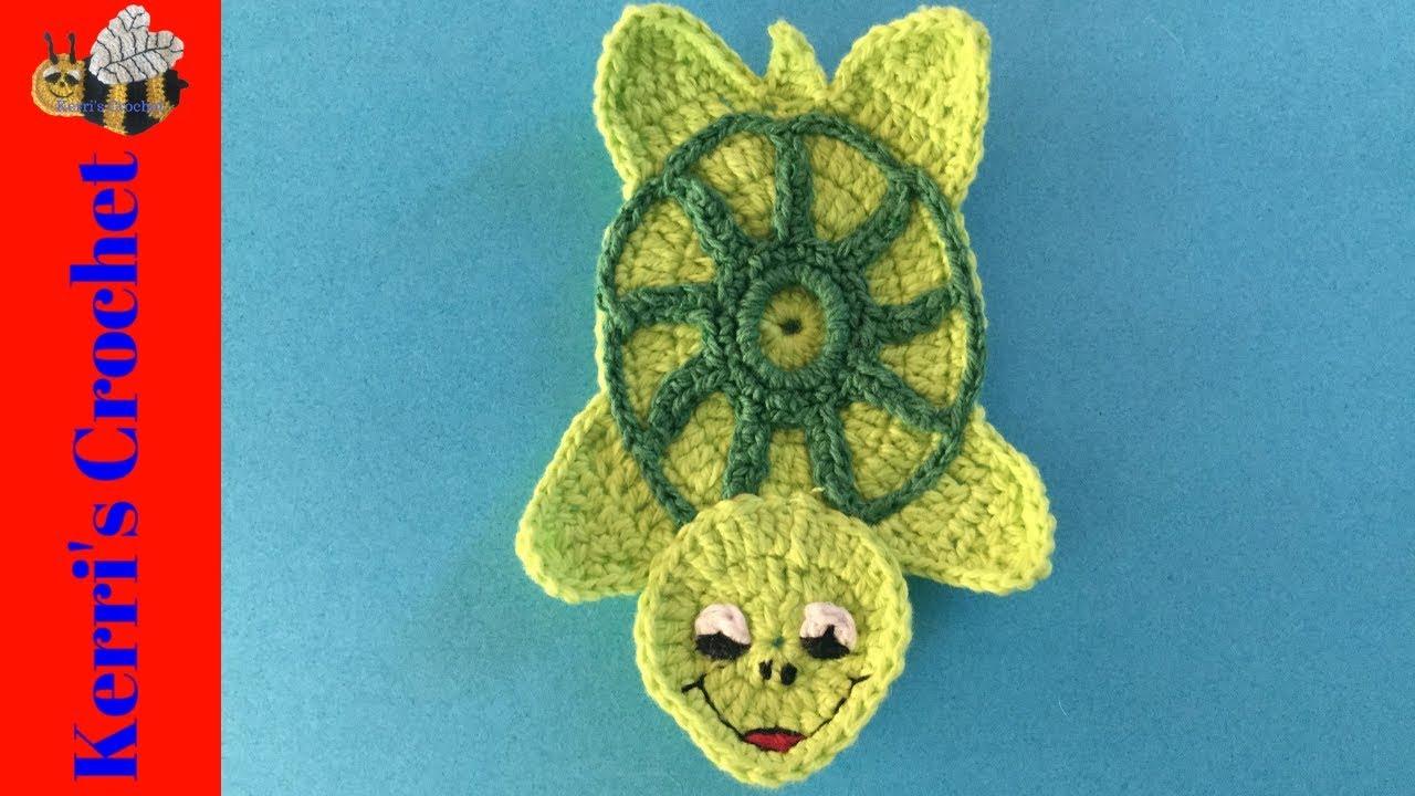 Cute Little Turtle Free Crochet Patterns | 720x1280