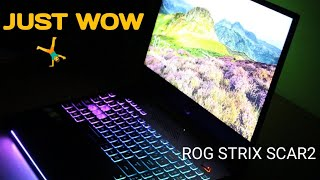 Asus Rog Strix Scar II Unboxing and Review in Hindi - Powerful Gaming Laptop from Asus