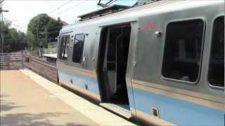 HD MBTA Blue Line at Suffolk Downs