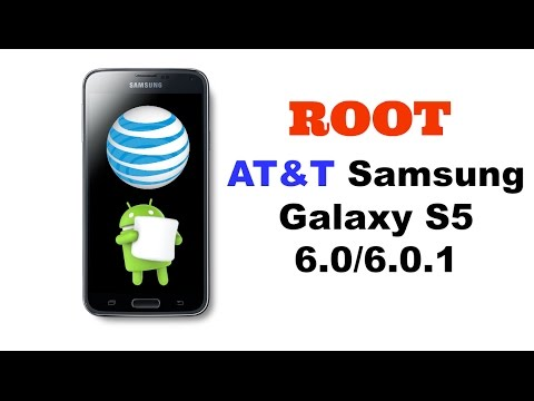 How to Root AT&T Samsung Galaxy S5 6 0 1
