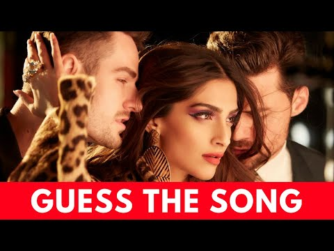 Guess The Song By It's Music Challenge | Bollywood Challenge