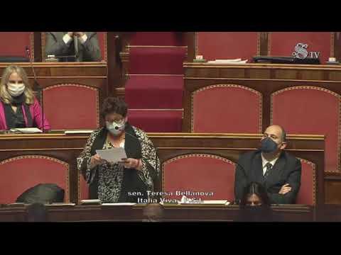Bellanova - Intervento in Senato (19.01.21)
