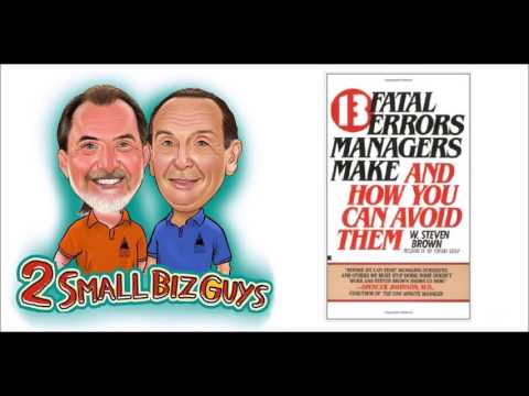 Manager's Fatal Mistakes part 1