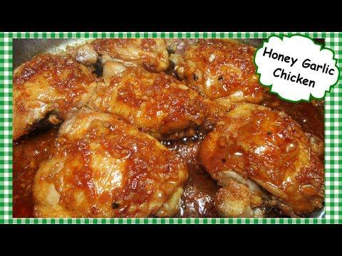 Honey Garlic Glazed Chicken Thighs ~ Cooking Chicken On Stove Top