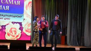 Конкурс импровизации   Светлана и Елизавета
