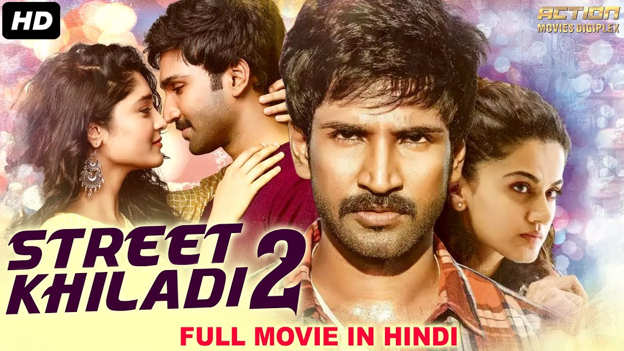 Download STREET KHILADI 2 - Blockbuster Action Hindi Dubbed Movie   Aadhi Pinisetty, Taapsee   South Movie