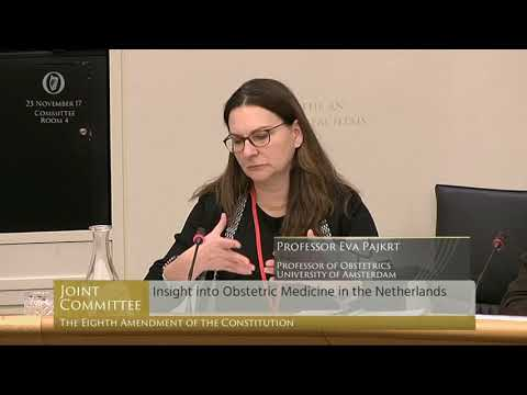 2017.11.22 Professor Eva Pajkrt on abortion post 24 weeks in the Netherlands