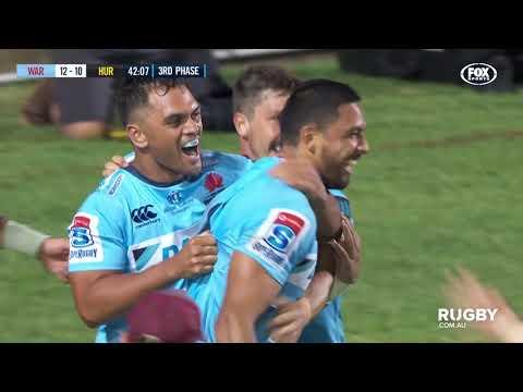 Super Rugby 2019 Round One: Waratahs vs Hurricanes
