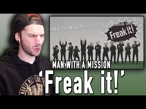 MAN WITH A MISSION - Freak It! REACTION!! (ft. Tokyo Ska Paradise Orchestra)