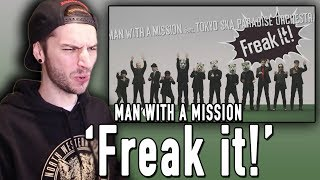 """Today I react to the new song """"Freak it!"""" by MAN WITH A MISSION!!! ..."""