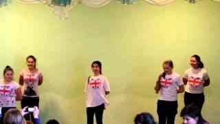 """Шкільний концерт ч.2 """"Іноземні мови"""" (м.Чернівці СШ №24)"""