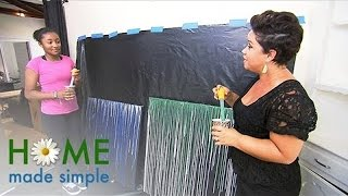 NEWFACE MAGAZINE LV MEDIA FEATURING: Decorating with Drip Art   Home Made Simple   Oprah Winfrey Net