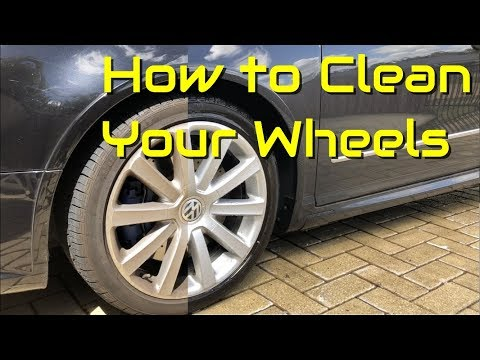 The Easy Way to Clean Brake Dust Off Wheels