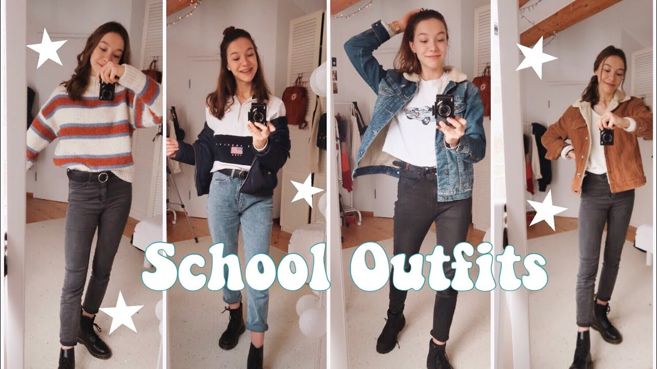 [VIDEO] - what i wear in a week - school outfits ✰ 4