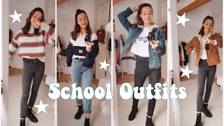what i wear in a week - school outfits ✰