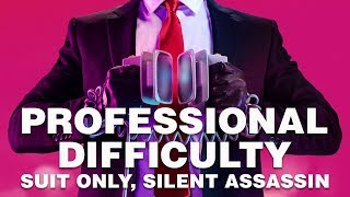 Hitman 2 Professional Walkthrough Suit Only / Silent Assassin / No KOs | Miami / The Finish Line