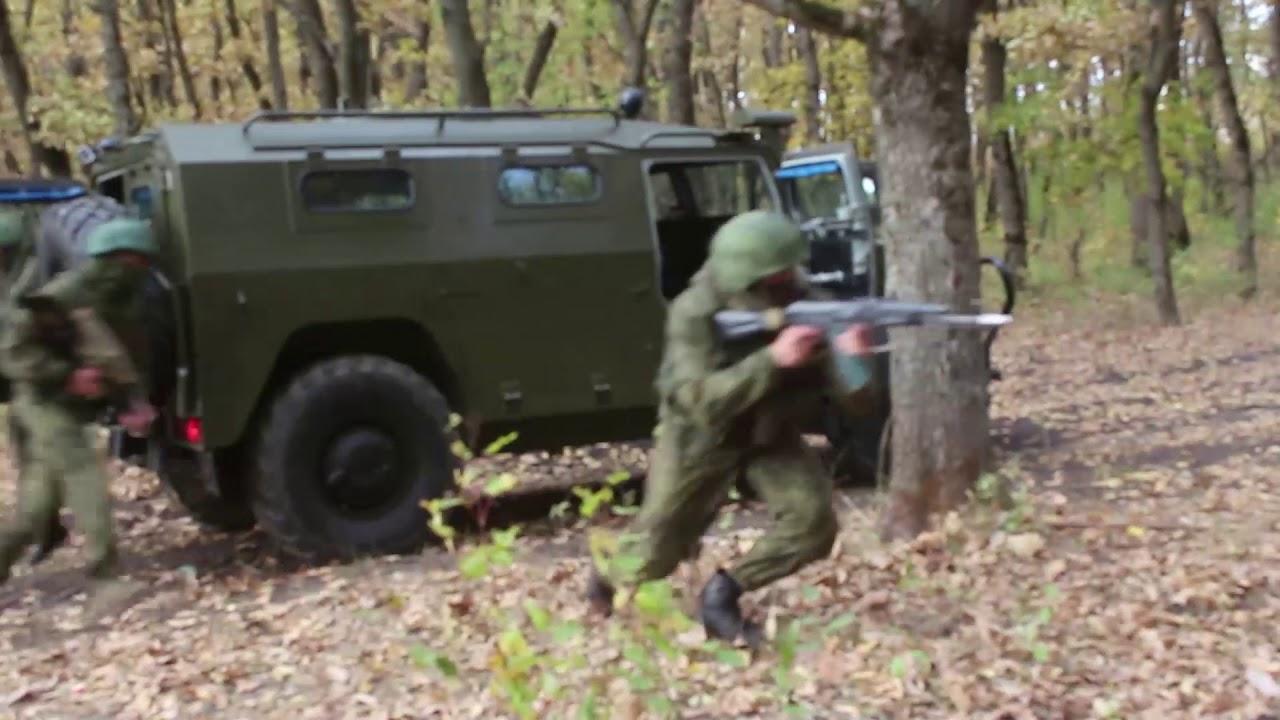 Учения спецназа ЮВО в глубоком тылу условного противника в горах Кубани