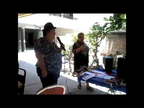 Karaoke Fun at Golden Assisted Living