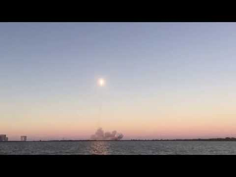 NOAA Deep Space Climate Observatory - SpaceX Falcon v9.1 Launch - DSCOVR