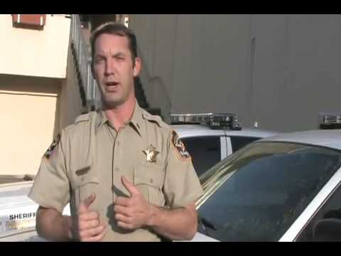 County Law Crime Prevention Tip 35  Crime Watchers  filmed by jeffery foster