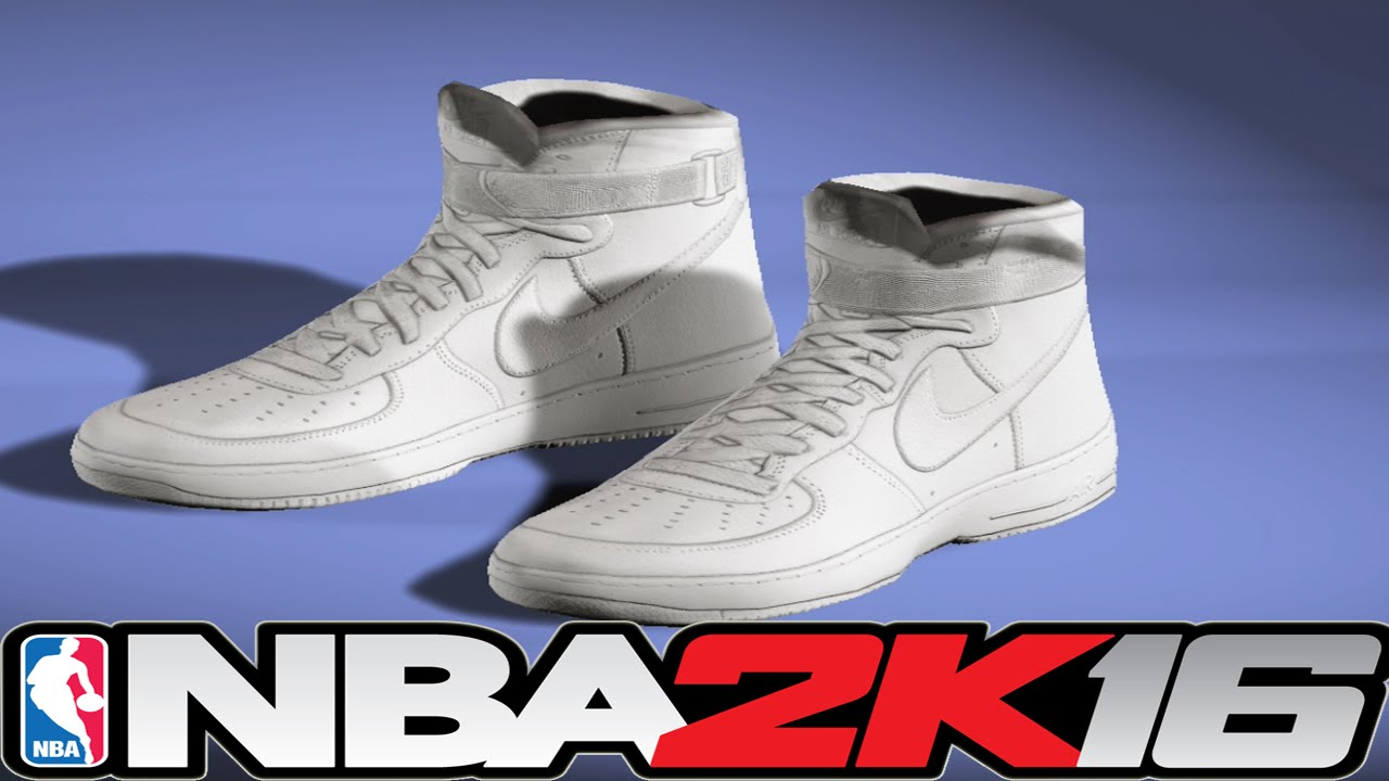 NBA 2K16 Shoe Creator - Air Force 1s