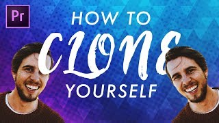 How to CLONE yourself FAST | Adobe Premiere Pro Tutorial
