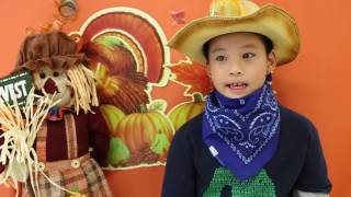 Happy Thanksgiving From Our PLASP Kids And CEO