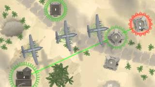 Airborne Wars - Walkthrough 1-10 levels