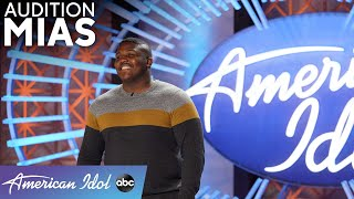 Firefighter Mias Brings The HEAT, But Is It Missing That Smoke? - American Idol 2021
