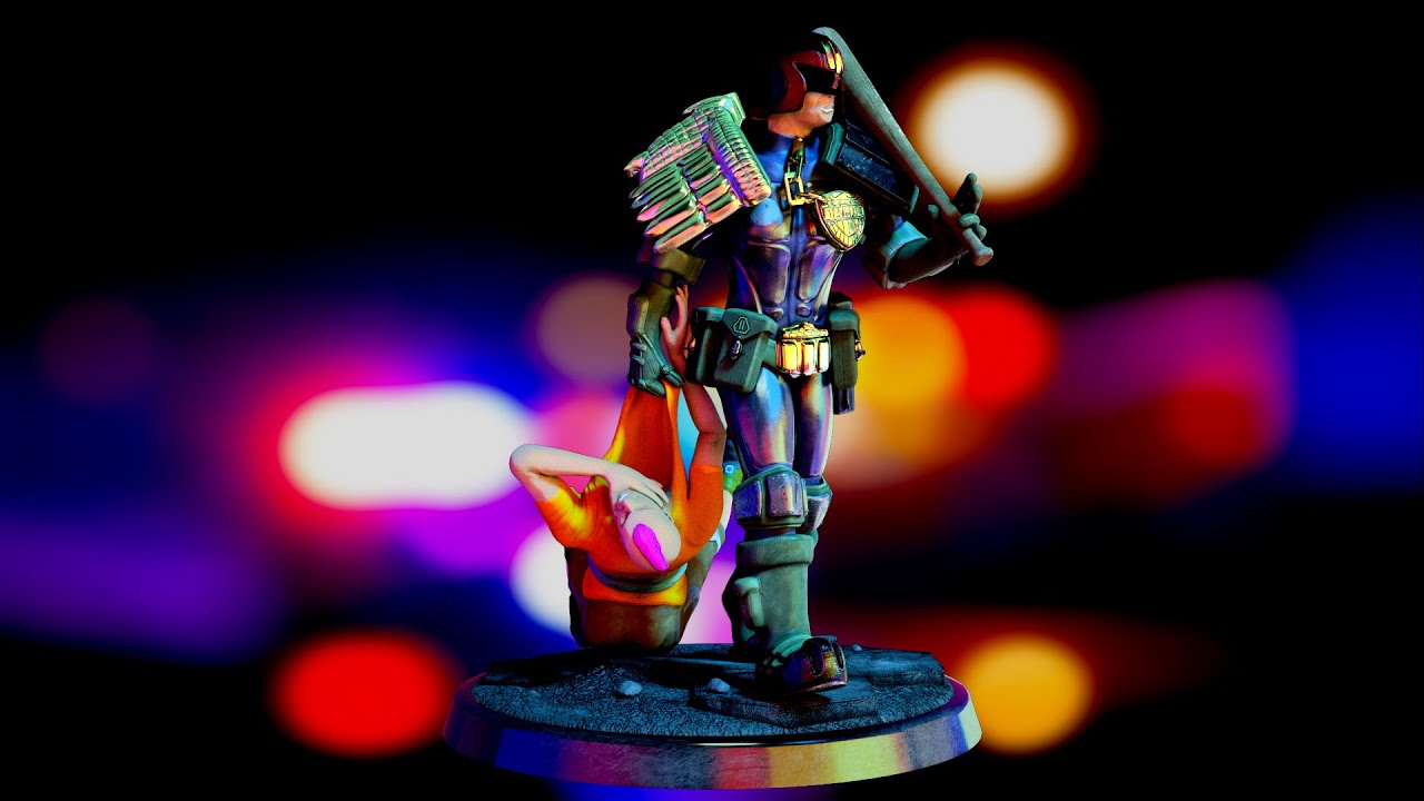Judge Dredd — PC3D / Freelance CG Generalist
