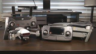 DJI Spark Controller vs. Mavic Pro Controller